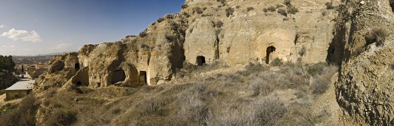 Casas Cueva de Purullena-Hoya de Guadix