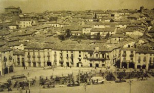 Baeza, vue aérienne - Andalousie - Jaen
