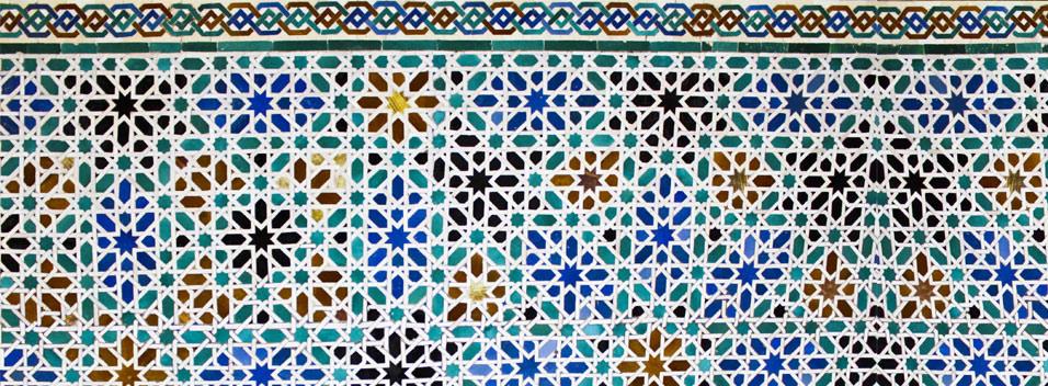 Thèmes et motifs décoratifs de l' architecture musulmane (3/3)