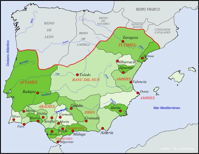 Carte Andalousie Histoire.L Andalousie Au Moyen Age 2 3 Andalousie Culture Et
