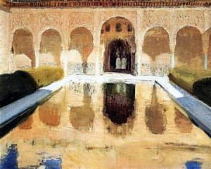 patio-comares-alhambra-joaquin-sorolla-y-bastida-peinture-andalousie