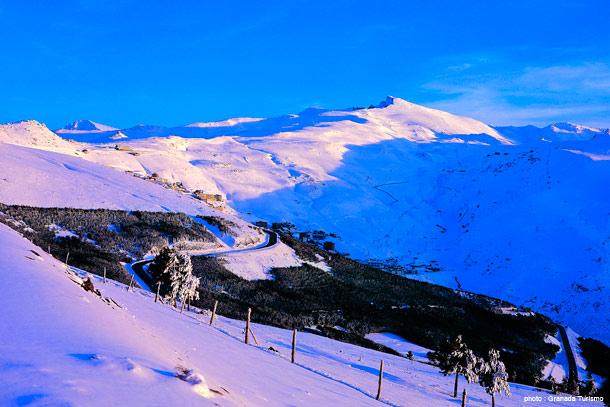 sierra-nevada-hiver-andalousie