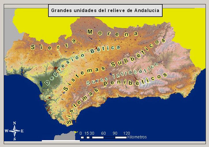 Andalousie, culture et histoireCarte d'Andalousie   Andalousie