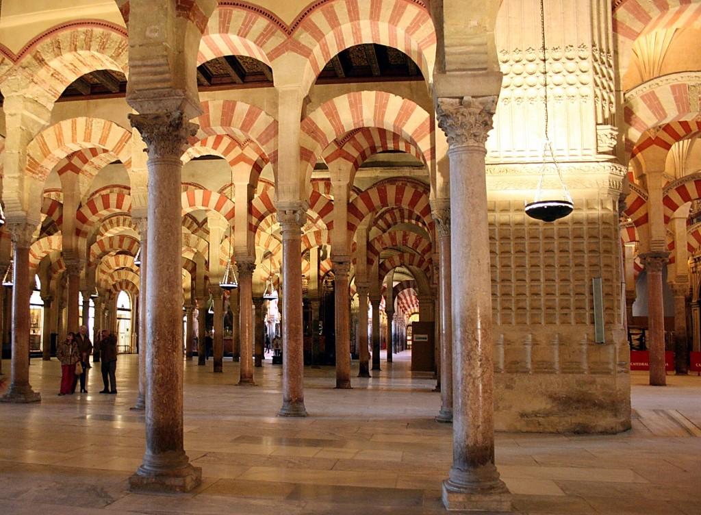 Salle des colonnes - Mosquée de Cordoue