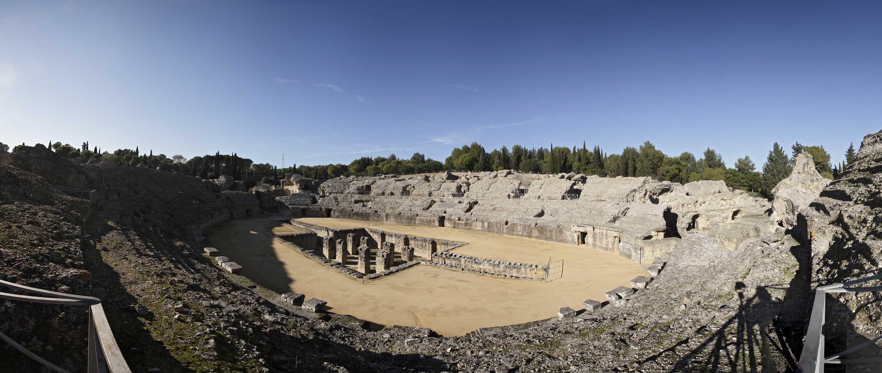 Italica, site romain d'Andalousie