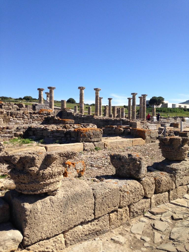Les colonnes de Baelo Claudia