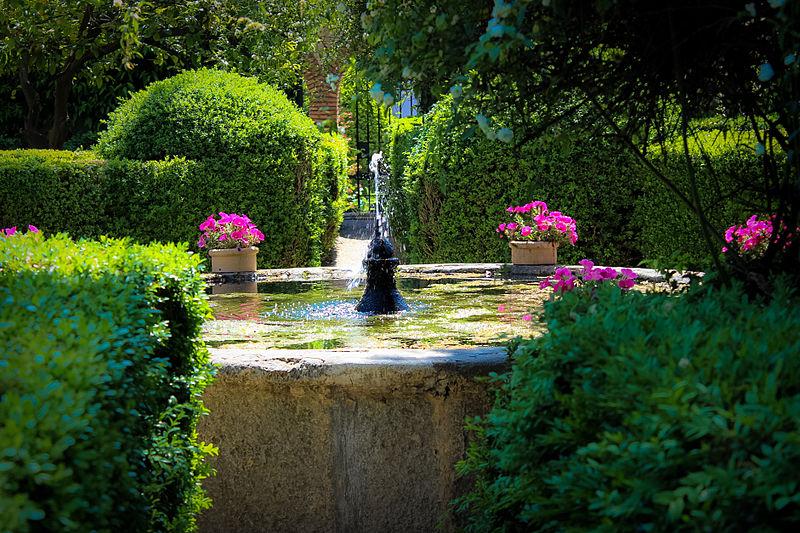 Jardin du Palacio de Viana